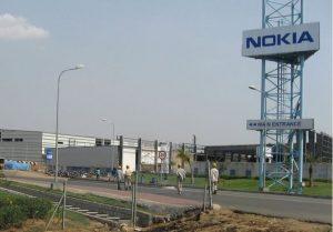 pabrik Nokia di Chennai