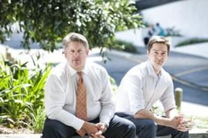 Professor Michael Kimlin dan Dr David Borrodale