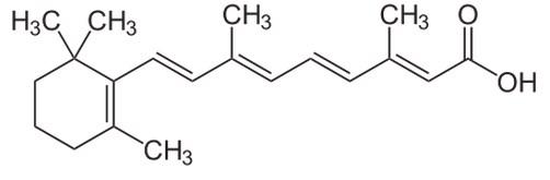 Tretinoin (all-trans-retinoic acid).