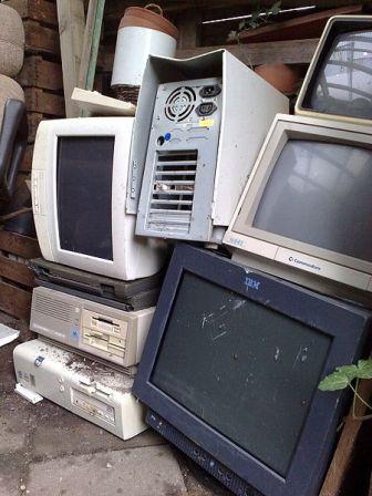 Limbah komputer.