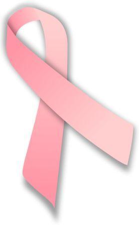 Pita merah muda, simbol kepedulian terhadap penderita kanker payudara dan kesadaran terhadap bahaya kanker tersebut.