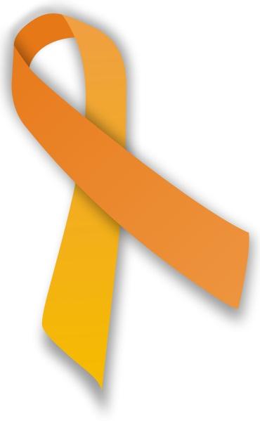 Pita orange, simbol kesadaran terhadap malnutrisi.