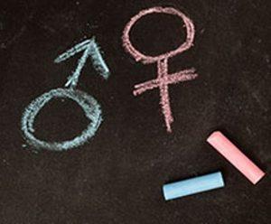 simbol wanita dan pria
