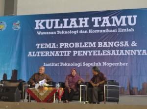 ITS Gelar Acara Kuliah Tamu Wawasan Teknologi dan Komunikasi Ilmiah (WTKI) (Credit: www.its.ac.id)