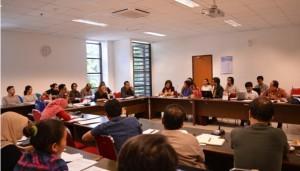 Workshop Media, Indigenous People and Democratic Movement yang berlangsung di Ruang Dekanat Fisipol UGM. (Credit: ugm.ac.id)