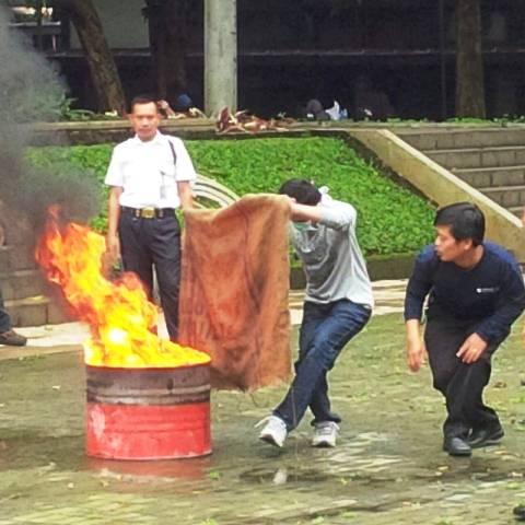 keselamatan kerja, kebakaran