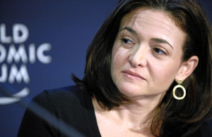 Sheryl Kara Sandberg., COO Facebook (Credit: World Economic Forum, Flickr, cc-by-sa-2.0)