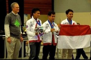 Tim Robot UGM Juara di Dua Kompetisi Internasional. (Credit: ugm.ac.id)