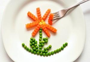 makanan, wortel, kacang