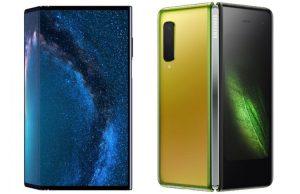 Perang Smartphone Lipat Samsung Galaxy Fold Vs Huawei Mate X