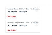 Paket Disney+ Hotstar Telkomsel
