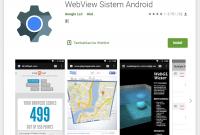 Cara Mengaktifkan Sistem Webview Pada Android