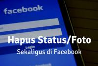 Cara Menghapus Semua Status Facebook Secara Otomatis