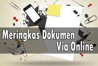 Trik Meringkas Dokumen Secara Online
