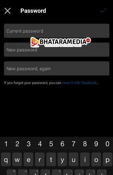 Password Instagram
