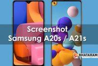 Cara Screenshot Samsung A21s Lengkap