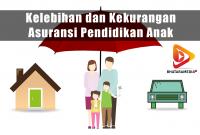 Kelebihan dan Kekurangan Asuransi Pendidikan Anak